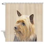 Silky Terrier Shower Curtain