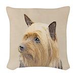 Silky Terrier Woven Throw Pillow
