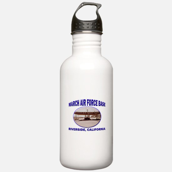 March Air Force Base Water Bottle