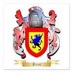 Boys Square Car Magnet 3