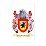 Boys Sticker (Rectangle 50 pk)