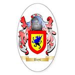 Boys Sticker (Oval 10 pk)