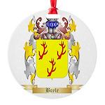 Boyle (Scottish) Round Ornament