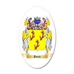 Boyle (Scottish) 20x12 Oval Wall Decal