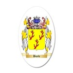 Boyle (Scottish) 35x21 Oval Wall Decal