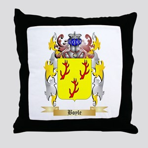 Boyle (Scottish) Throw Pillow