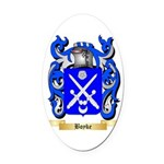 Boyke Oval Car Magnet