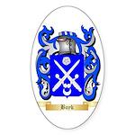 Boyk Sticker (Oval 50 pk)