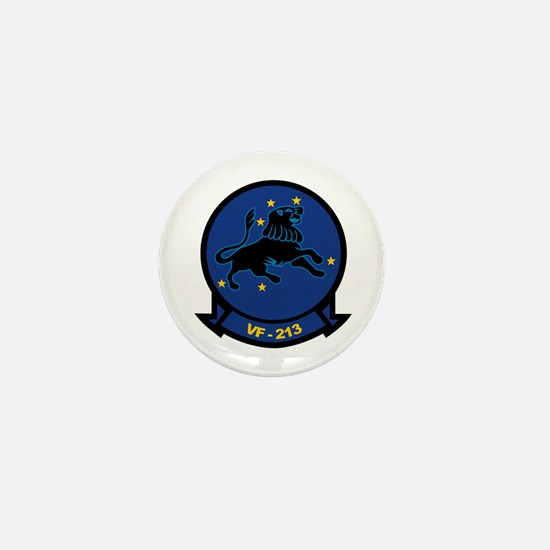 F-14 Tomcat VF-213 Black Lion Mini Button