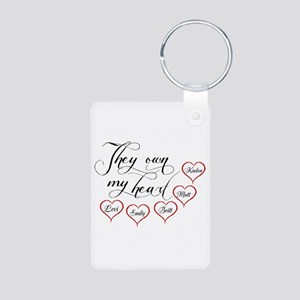 Children They own my heart Keychains