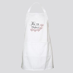 Children They own my heart Apron