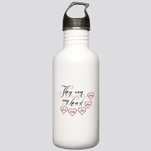 Children They own my heart Water Bottle