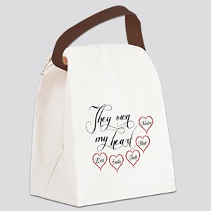 Children They own my heart Canvas Lunch Bag