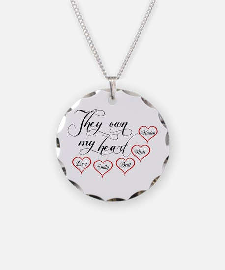 Children They own my heart Necklace