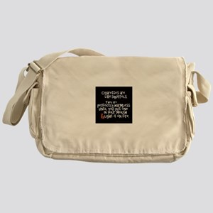 Perfectly Harmless Messenger Bag