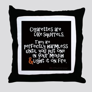 Perfectly Harmless Throw Pillow