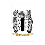 Bywaters Sticker (Rectangle 50 pk)
