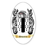 Bywaters Sticker (Oval 50 pk)