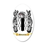 Bywaters 35x21 Oval Wall Decal