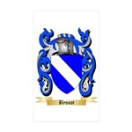 Byssot Sticker (Rectangle 50 pk)