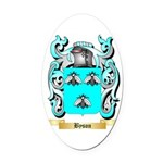 Byson Oval Car Magnet