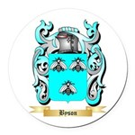 Byson Round Car Magnet