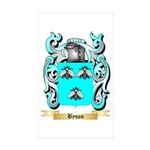 Byson Sticker (Rectangle 50 pk)