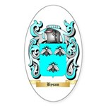 Byson Sticker (Oval 50 pk)