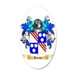 Byrom Oval Car Magnet