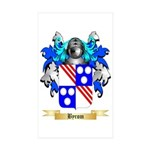 Byrom Sticker (Rectangle 50 pk)