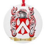 Byrne Round Ornament