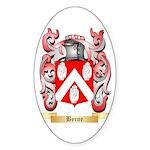 Byrne Sticker (Oval)