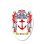 Byris 35x21 Oval Wall Decal