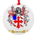 Byrd Round Ornament