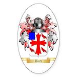 Byrd Sticker (Oval 50 pk)