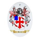 Byrd Ornament (Oval)