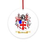 Byrd Ornament (Round)
