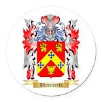 Buttsworth Round Car Magnet