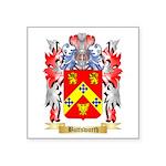Buttsworth Square Sticker 3