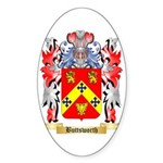 Buttsworth Sticker (Oval)