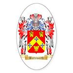 Buttsworth Sticker (Oval 50 pk)