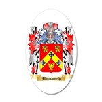 Buttsworth 35x21 Oval Wall Decal