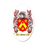 Butts Oval Car Magnet