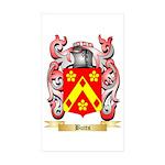 Butts Sticker (Rectangle 50 pk)