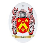 Butts Ornament (Oval)
