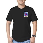 Buttrum Men's Fitted T-Shirt (dark)
