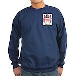 Buttoner Sweatshirt (dark)