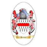 Button Sticker (Oval 10 pk)
