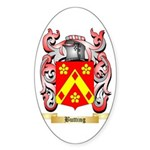 Butting Sticker (Oval 50 pk)