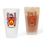 Butting Drinking Glass
